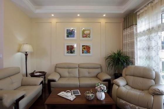 欧式贵族床资料下载-86平米两室一厅 别致的错落设计