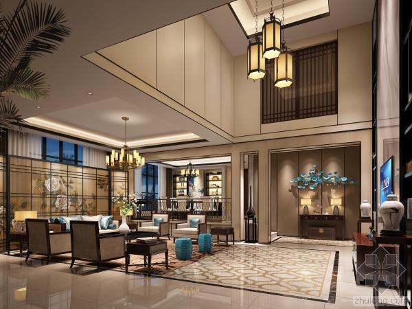 [别墅效果图]北京东南亚风格别墅效果图设计分享