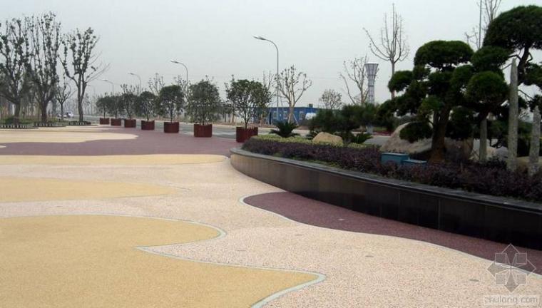 透水地坪铺设需具备的三个基本工程条件
