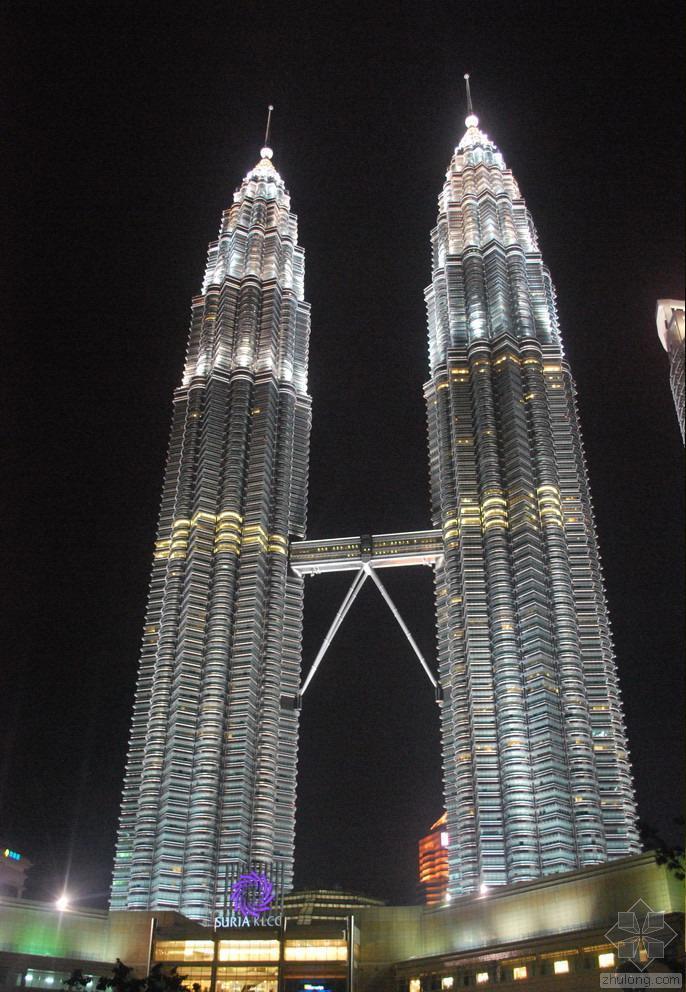 马来西亚地标建筑之双子塔