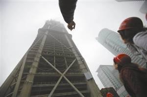 [BIM成果]深圳平安金融中心已达330米