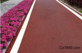 彩色沥青混凝土是环保节能的绿色建材