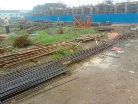 房子建成从基础到封顶全过程(图片)