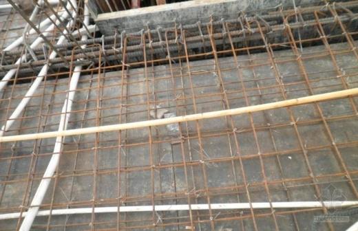 钢筋绑扎施工质量问题照片