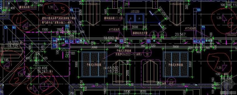 新手求CAD图纸上查看教坡屋面坡度的相关问题