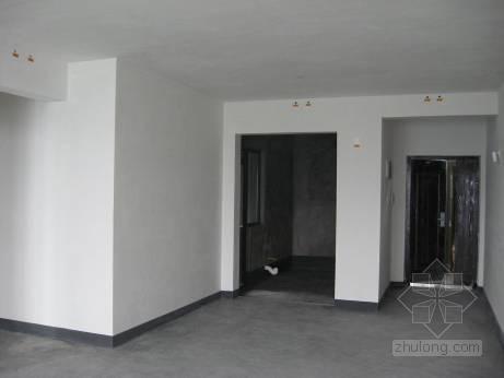 清水房交房标准—内墙抹灰施工
