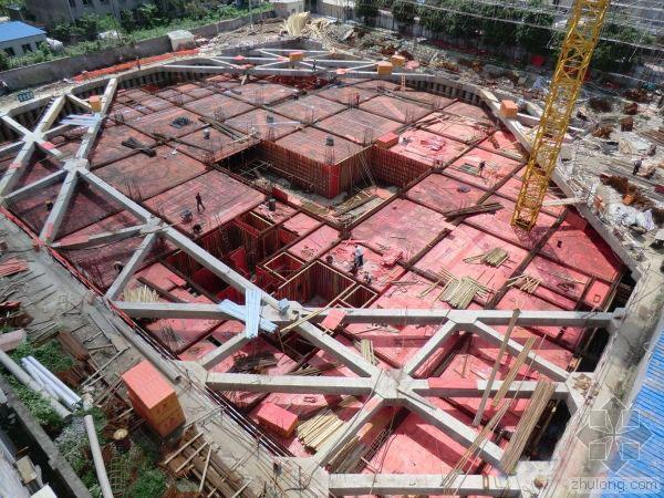高层建筑地下室基坑施工全过程图片集(二)