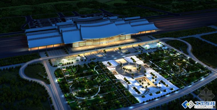 结构案列分析:厦门高铁北站结构设计