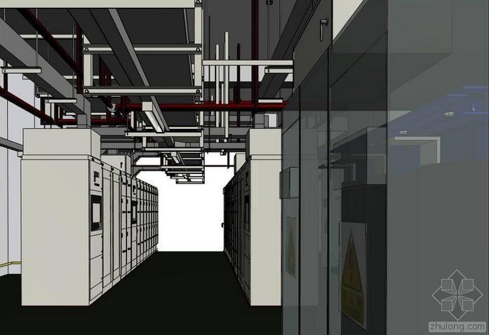 [案例及教程分享]配电房工程revit模型+施工模拟