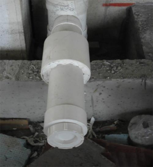 建筑给排水安装质量通病