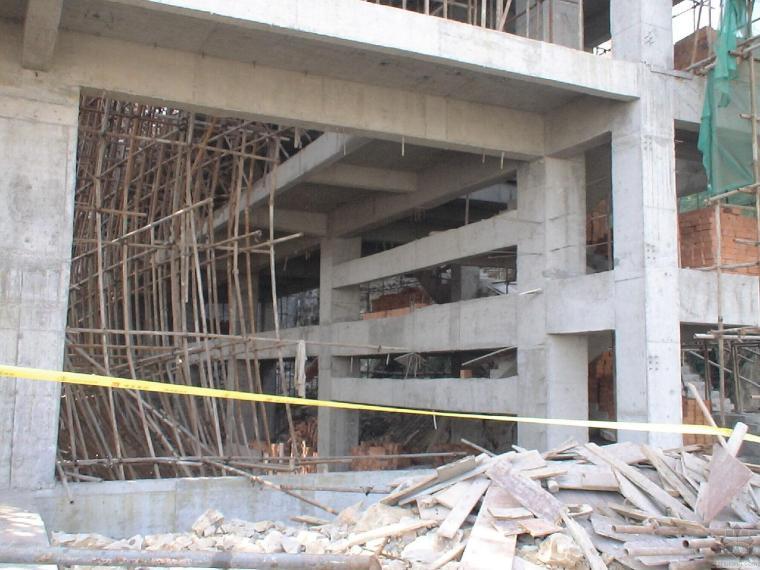 厦门福隆体育公园运动馆高支模模板坍塌事故案例分析