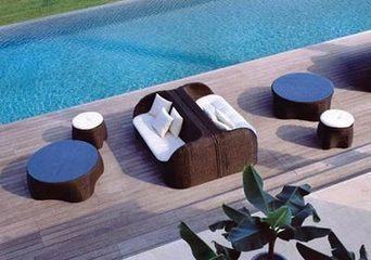 户外休闲家具的表面处理