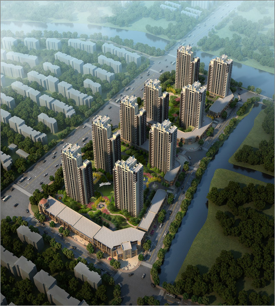 BIM案例 上海新城某住宅项目——[筑龙教育 友情分享]