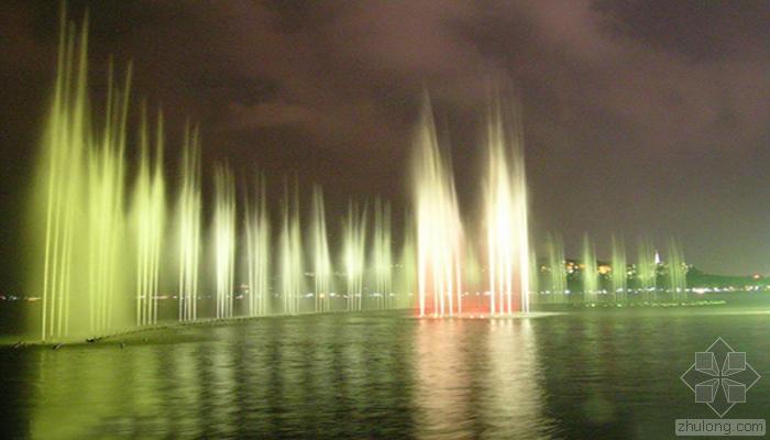 中国最著名的音乐喷泉
