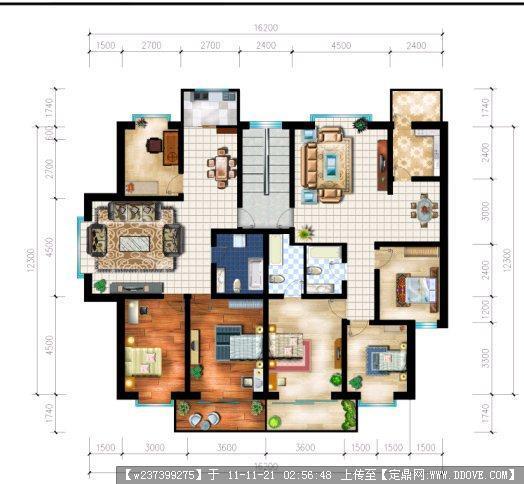 求一个一梯两户户型80~100,100~120,120~140,可以随意搭配的设计方案