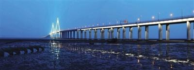 杭州湾跨海大桥引领中国桥梁进入海洋时代