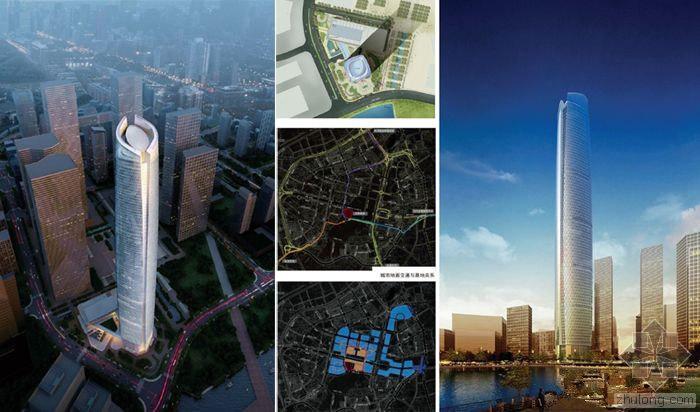 438米武汉中心建筑方案设计回顾及施工现场直播