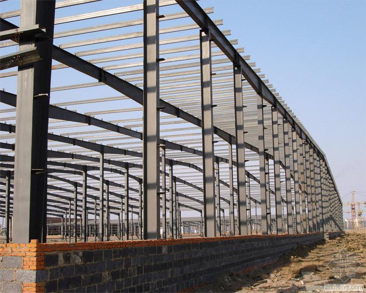 普通厂房钢结构的施工要点
