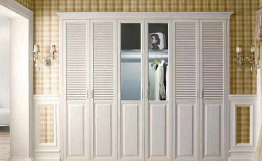 五款欧式风格欧派衣柜图片