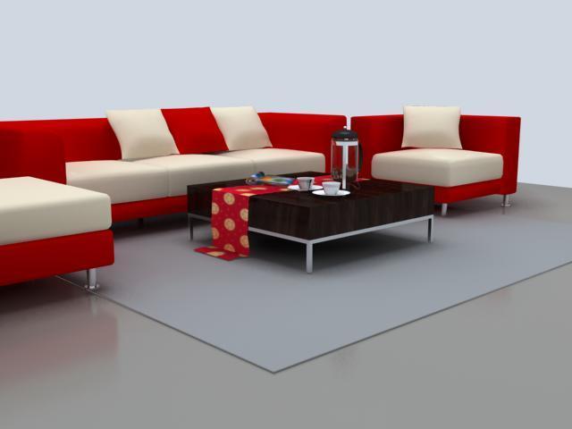 vray贴图素材资料下载-用vray打造逼真地毯