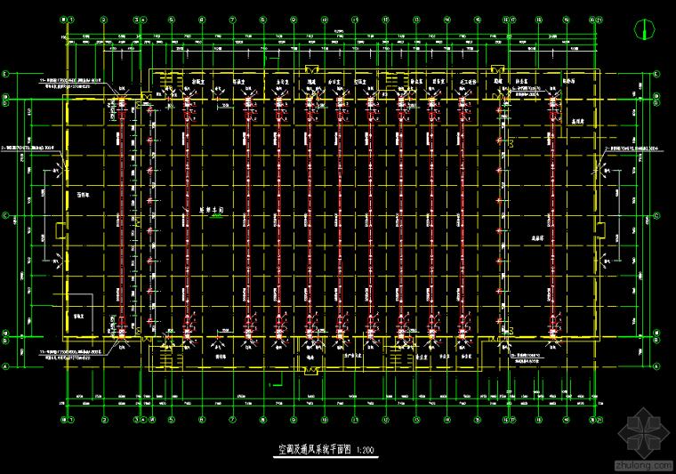 厂房风管机与采暖设计