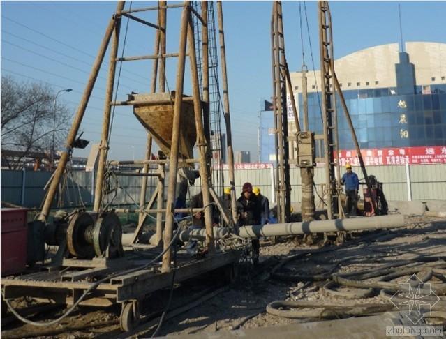 泥浆护壁成孔灌注桩施工现场见闻