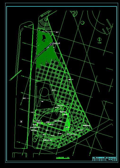 都江堰城市演义广场全套施工图