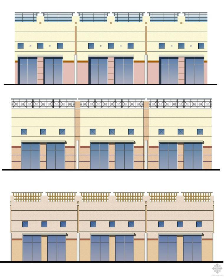 四川省内江市大洲坝广场水景茶园施工图