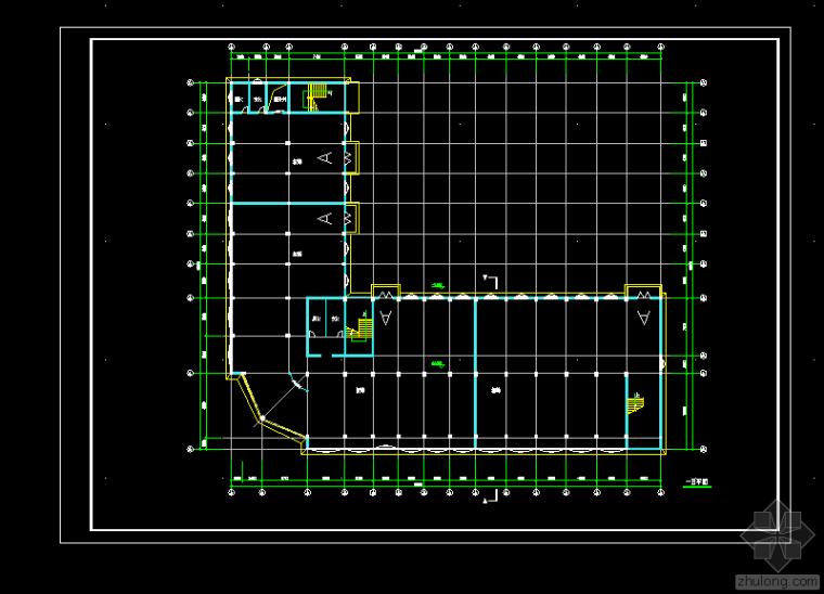 工业厂房建筑图纸