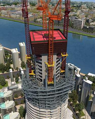 632米上海中心项目施工概况及特色介绍