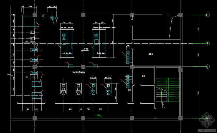 商厦中央空调设计图纸