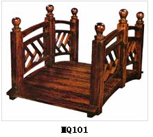 防腐木木桥厂家 园林配套木制品