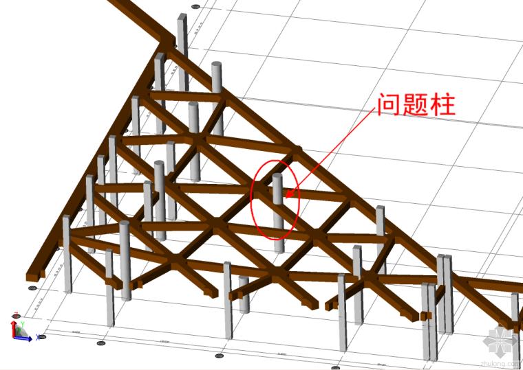 地下室框架柱与围护支撑梁相交,柱钢筋如何处理?