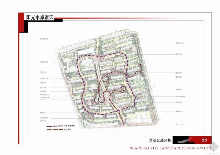 上海阳光水岸小区全套景观设计文本