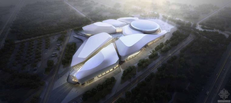 黑龙江省博物馆方案设计