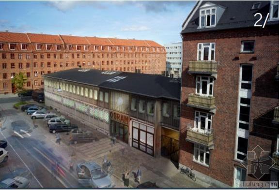 欧司朗文化中心改造:用日光代替灯泡