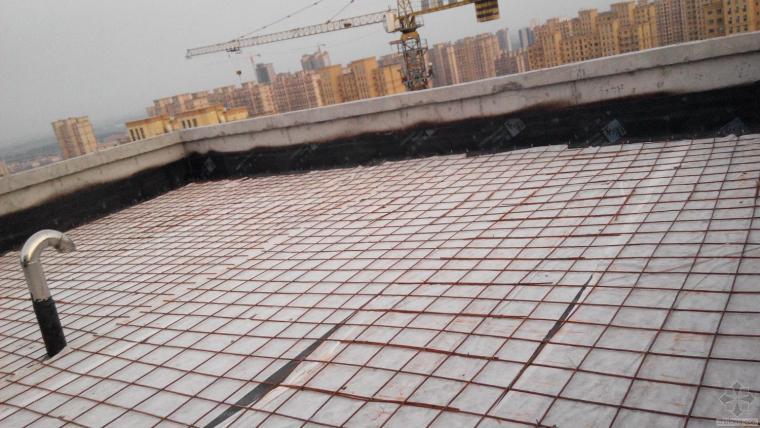屋面防水保护层