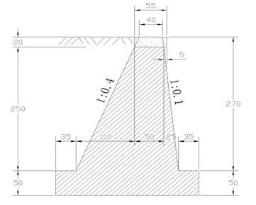 城市道路施工图设计中的块石挡土墙设计注意事项