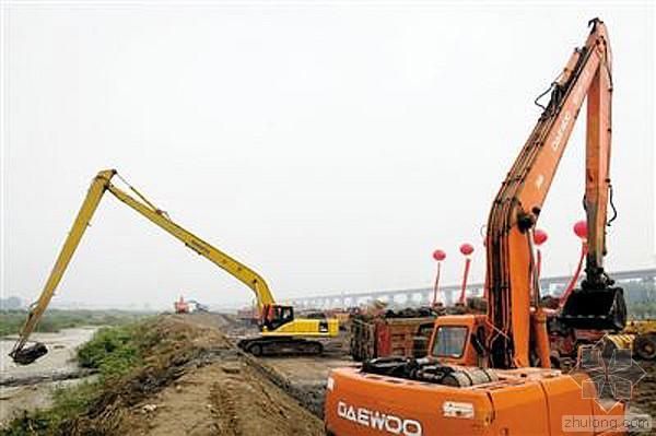 河道治理施工过程中的重点、难点质量控制