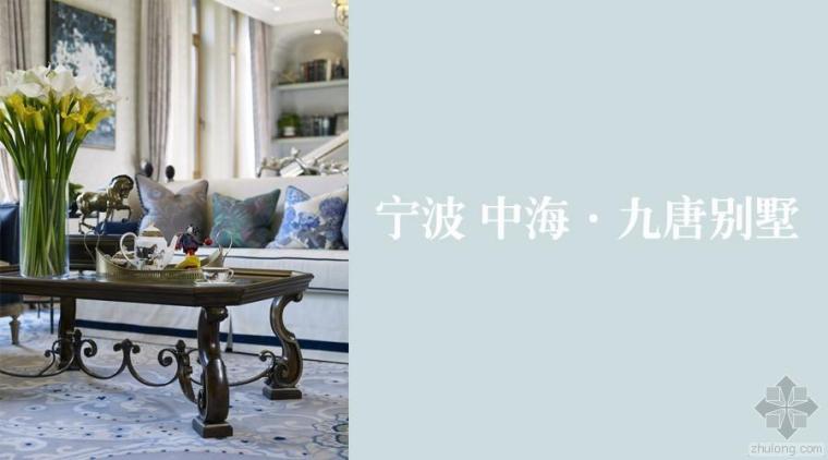 宁波 中海 · 九唐别墅项目二期样板房案例