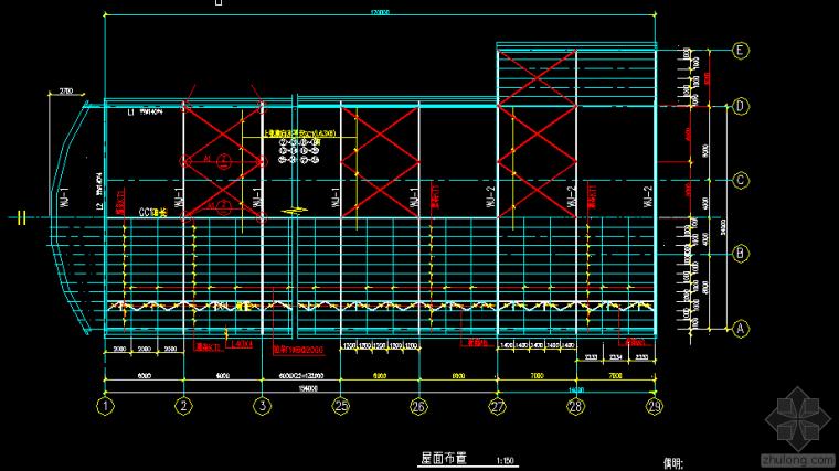 24x30弧形钢结构厂房.dwg