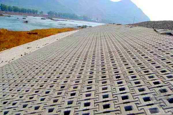混凝土砌块护坡在水利工程中的施工工艺