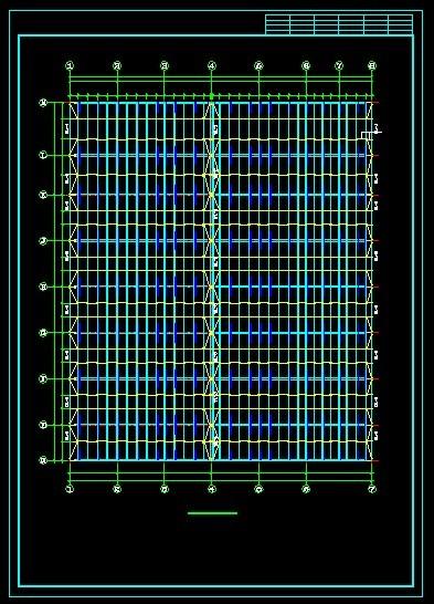 本田展厅建筑结构全图