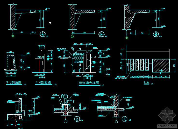 厂房全套施工图,结构详图
