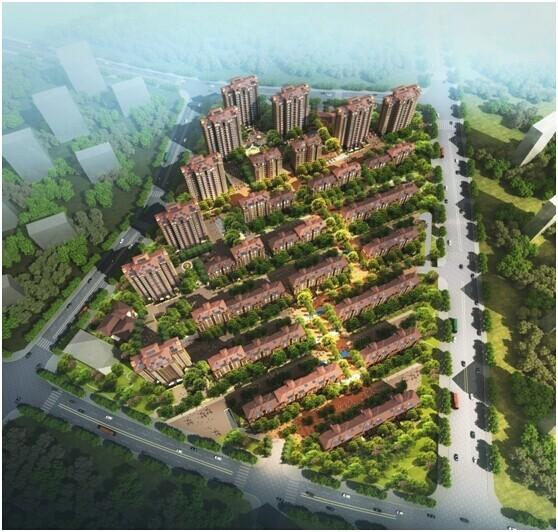 房地产设计的高低搭配经典案例—深圳市方标世纪倾力之作宜禾红橡公园