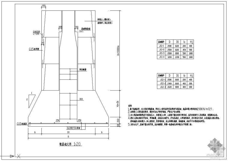 墩基础的设计及构造