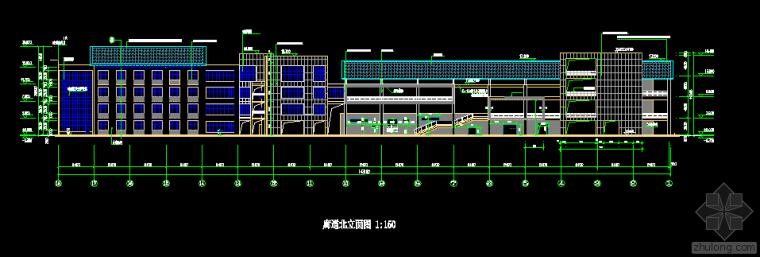 河南某房产公司多层钢结构工程CAD.dwg