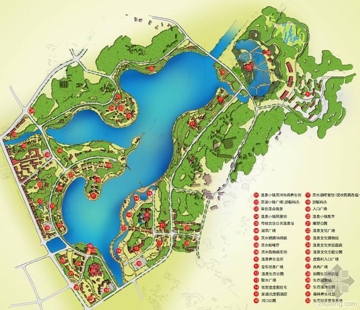 湖南长沙灰汤温泉国际旅游度假区概念性规划