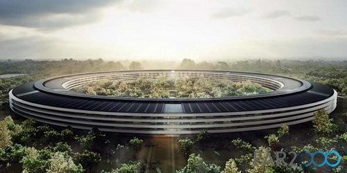 修改后的苹果公司总部建筑方案公布