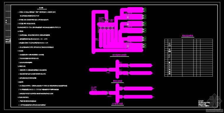 化工厂宿舍电气改造图